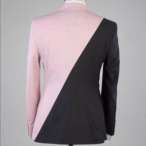 Suits & Blazers - Men's Black Pink 2 Piece Suit